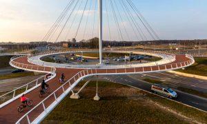Eindhoven cycle island